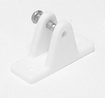 White Nylon Deck Hinge
