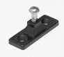 Black Nylon Side Mount Deck Hinge