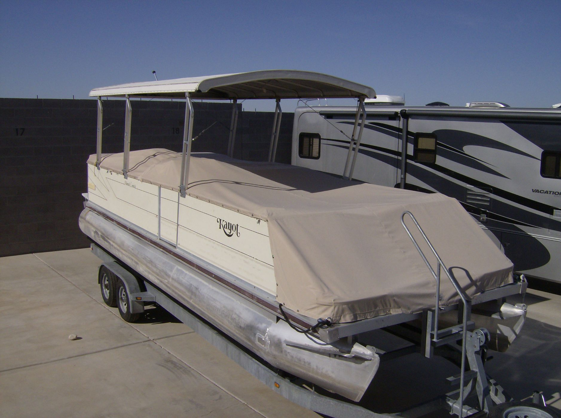 8ac1b173dc0 Click on the image below to view other Pontoon Boat Covers